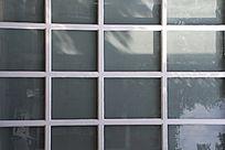 玻璃窗格纹理