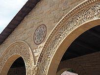 浮雕装饰外檐