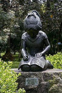 人物雕塑作品新花