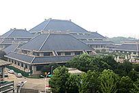 武汉的湖北博物馆外景