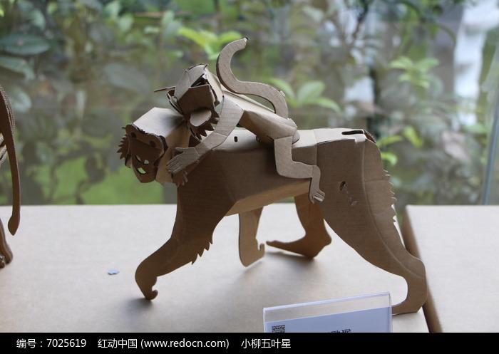 纸箱做动物步骤图片