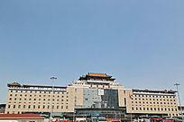 北京西站南广场外景