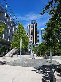 城市空间现代艺术场地