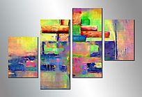 抽象画 组合画