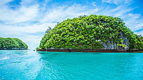 海洋上的堡礁