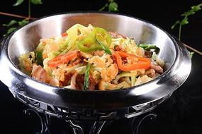 金牌干锅有机花菜