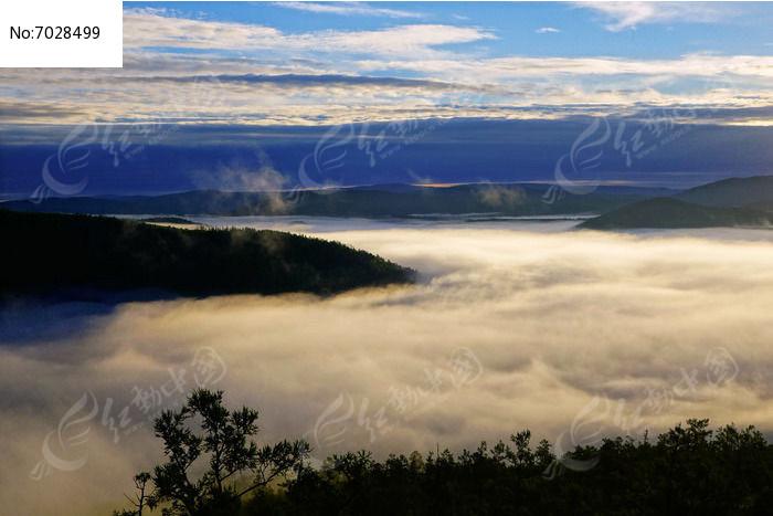 原创摄影图 自然风景 森林树林 山林云海