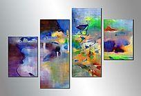 四联抽象画 组合抽象画