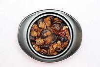 香菇烧肉砂锅