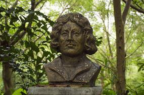 哥白尼半身人物雕像