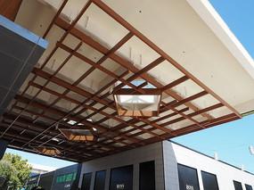 建筑间木屋顶框架构造