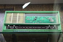 七十年代双环牌单波段晶体管钟控收音机