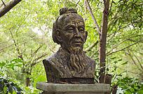 祖冲之半身人物雕像