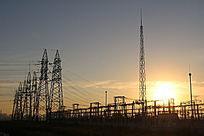 高压线架子信号塔