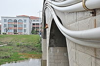 建筑物上水管道