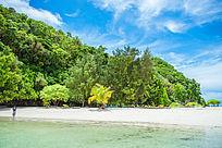帕劳岛屿的风景