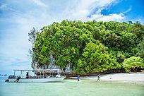 帕劳的小岛屿