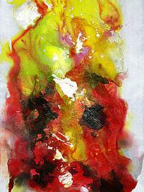 水墨电分高清抽象油画