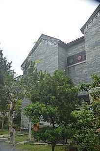 西关风格古建筑