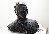 俄罗斯作家蒲宁雕塑