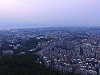 厦门城市全景图