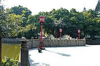 广州建烈士陵园内景
