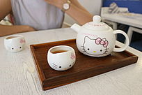 hello kity迷你小茶具