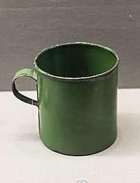美式搪瓷杯展品
