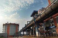循环经济转炉煤气发电区域