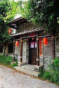 古老小镇建筑