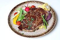 豌豆烤牛肉