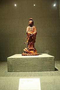 苏州博物馆的文物古董收藏品 木雕
