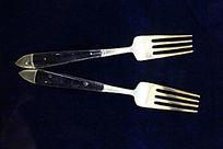 早期南洋华人使用的生活用具餐叉