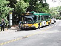 道路公交车