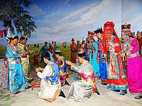 蒙古族婚礼