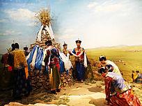 蒙古族祭敖包活动