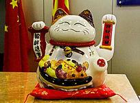 日式 陶瓷招财猫