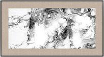 水墨电分 黑白装饰画