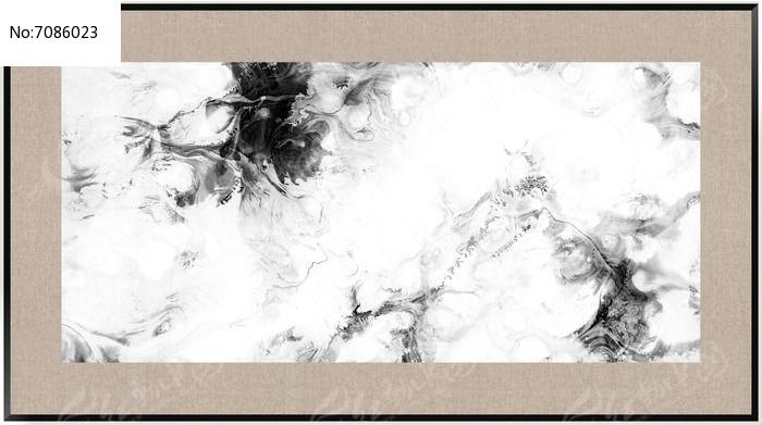 水墨 现代水墨画 壁画 抽象画图片图片
