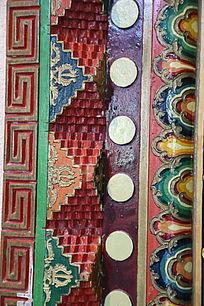藏式花纹边框图片,高清大图 雕刻艺术素材