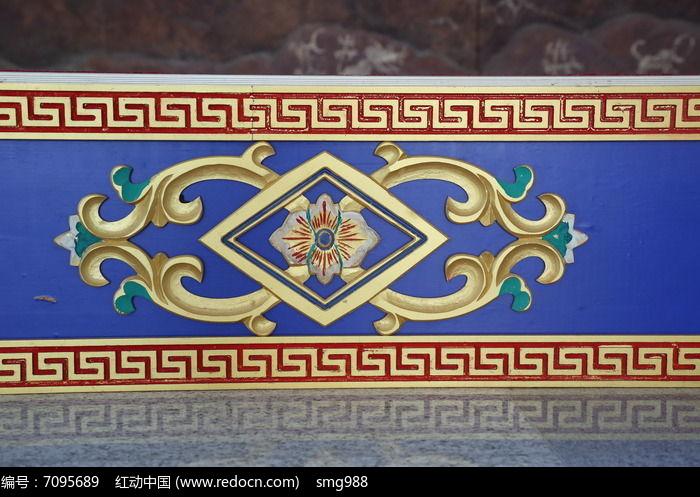 藏式花纹边框图片