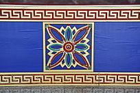 传统木刻花纹边框