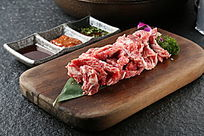 调味牛排骨肉