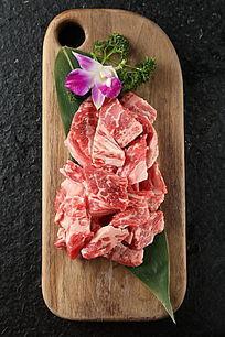 调味雪花牛肉