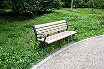 公园木质座椅