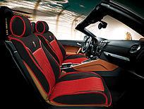 凯迪拉克专车专用座垫实拍图