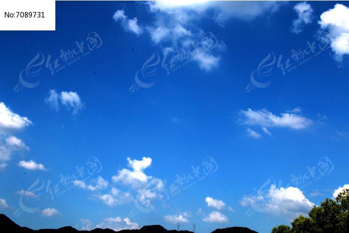 蓝天白云背景图图片图片