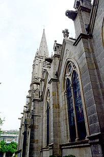 欧式的教堂