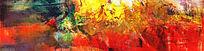 无框画 爆款打印喷绘抽象油画