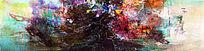 无框画 现代抽象画 极简风格 赵无极抽象油画